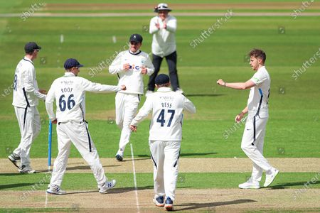 Editorial picture of Yorkshire CCC v Kent CCC. Leeds, UK - 06 May 2021