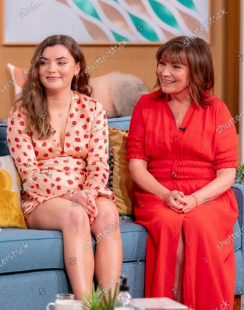 Lorraine Kelly and Rosie Kelly