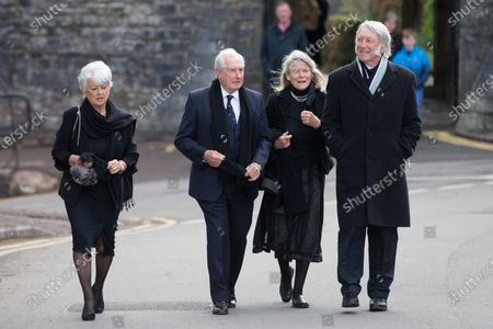 Editorial photo of John Dawes Funeral, Llandaff Cathedral, Cardiff - 06 May 2021