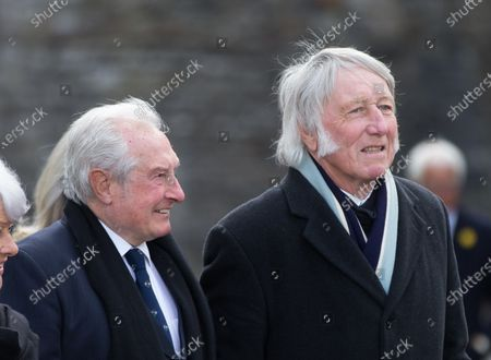 Editorial image of John Dawes Funeral, Llandaff Cathedral, Cardiff - 06 May 2021