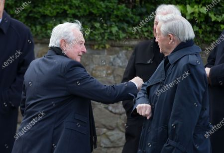 Editorial picture of John Dawes Funeral, Llandaff Cathedral, Cardiff - 06 May 2021