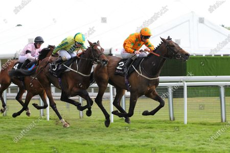 Love Is Golden and Franny Norton win the Boodles Handicap at Chester from Baileys Derbyday.