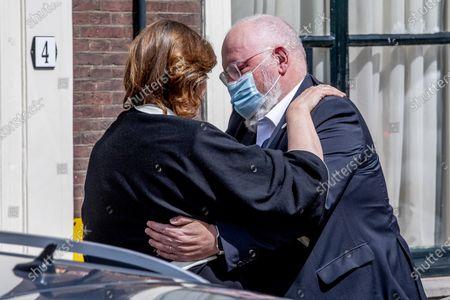 Editorial photo of Funeral of VVD politician Hans van Baalen, The Hague, The Netherlands - 06 May 2021