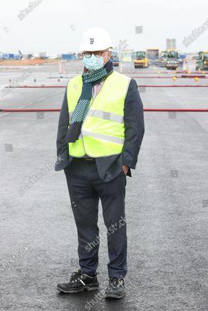 Editorial image of Charleroi Airport Gosselies Works, Charleroi, Belgium - 06 May 2021
