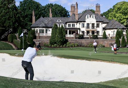 Editorial image of Wells Fargo Championship golf tournament, Charlotte, USA - 06 May 2021