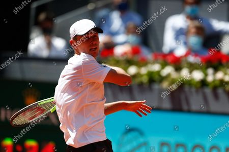 Editorial image of Tennis Internationals Mutua Madrid Open 2021, Masters 1000 tennis tournament, Spain - 06 May 2021