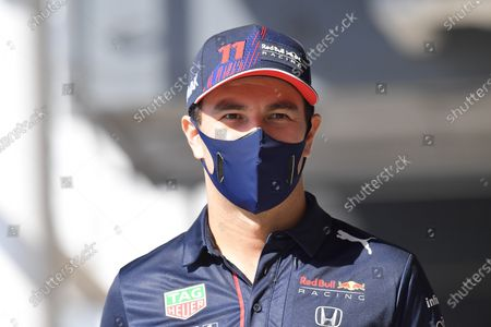 Sergio Perez (MEX#11), Red Bull Racing Honda