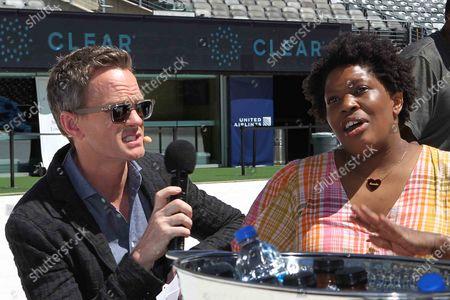 Neil Patrick Harris and Tanesha Wattley From Brooklyn
