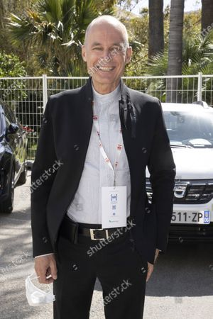 Bertrand Piccard (Founder and President of the Solar Impulse Foundation), at the signing of a Memorandum of Understanding aimed at reducing the use of plastics and combating plastic pollution in the Mediterranean Sea, at the EVER, Espace Fontvieille Monaco, Monte-Carlo