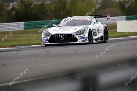 EUROSPEEDWAY LAUSITZ, GERMANY - MAY 04: Gary Paffett, Mücke Motorsport Mercedes AMG GT3 at EuroSpeedway Lausitz on Tuesday May 04, 2021 in Brandenburg, Germany. (Photo by Alexander Trienitz / LAT Images)