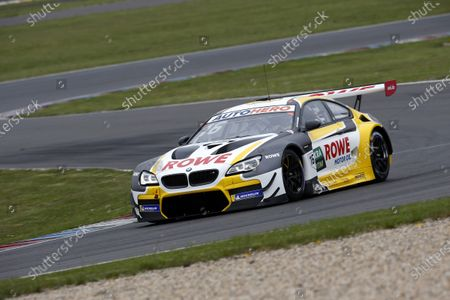 Stock Picture of EUROSPEEDWAY LAUSITZ, GERMANY - MAY 04: Timo Glock, ROWE Racing, BMW M6 GT3 at EuroSpeedway Lausitz on Tuesday May 04, 2021 in Brandenburg, Germany. (Photo by Alexander Trienitz / LAT Images)
