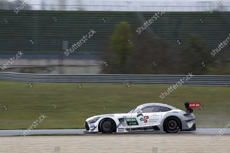 Stock Photo of EUROSPEEDWAY LAUSITZ, GERMANY - MAY 04: Gary Paffett, Mücke Motorsport Mercedes AMG GT3 at EuroSpeedway Lausitz on Tuesday May 04, 2021 in Brandenburg, Germany. (Photo by Alexander Trienitz / LAT Images)