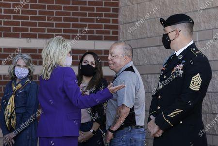 Editorial photo of Jill Biden, Colorado Spring, United States - 06 May 2021
