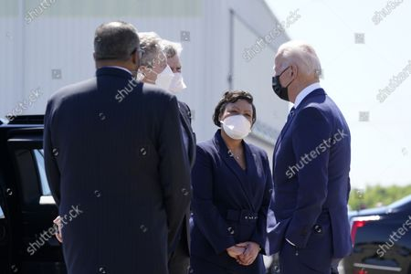 Editorial image of Biden, Kenner, United States - 06 May 2021