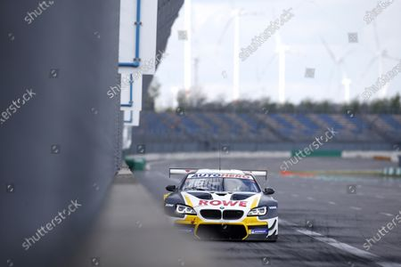 Stock Image of EUROSPEEDWAY LAUSITZ, GERMANY - MAY 05: Timo Glock, ROWE Racing, BMW M6 GT3 at EuroSpeedway Lausitz on Wednesday May 05, 2021 in Brandenburg, Germany. (Photo by Alexander Trienitz / LAT Images)