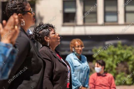 Editorial picture of Mothers of children killed by police demand justice and reform, Washington DC, USA - 06 May 2021