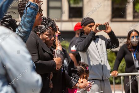Editorial photo of Mothers of children killed by police demand justice and reform, Washington DC, USA - 06 May 2021