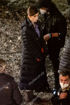 Editorial image of 'Emily in Paris' on set filming, Saint-Jean-Cap-Ferrat, France - 06 May 2021