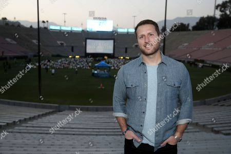 """Stock Image of Director Matthew Heineman attends Amazon Studios """"The Boy From Medellin"""" Premiere on Thursday, May 6th at the Rose Bowl in Pasadena, CA."""