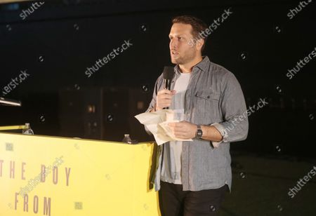 """Stock Photo of Director Matthew Heineman attends Amazon Studios """"The Boy From Medellin"""" Premiere on Thursday, May 6th at the Rose Bowl in Pasadena, CA."""