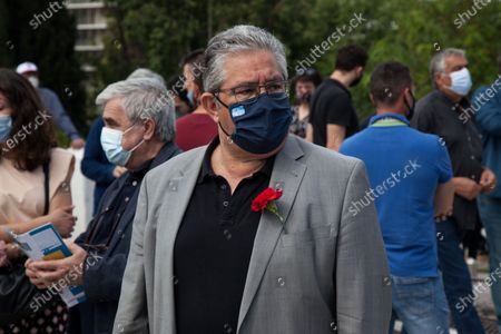 Editorial photo of International Worker's Day In Athens, Greece - 06 May 2021