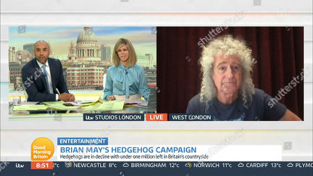 Editorial image of 'Good Morning Britain' TV Show, London, UK - 07 May 2021