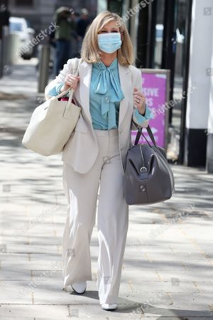 Kate Garraway out and about, London