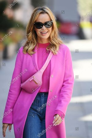 Amanda Holden out and about, London