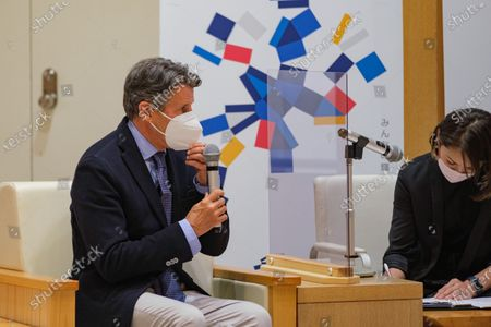 Editorial photo of Governor Koike meeting with Sebastian Coe, Tokyo, Japan - 07 May 2021