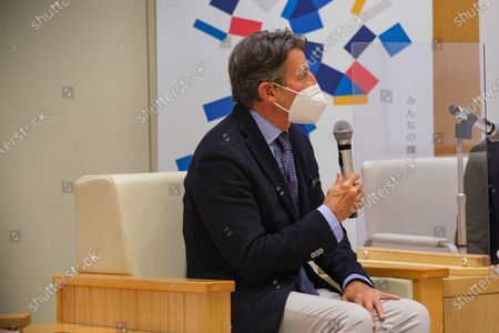 Stock Picture of Lord Sebastian Coe President of World Athletics opening remarks