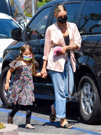 Editorial picture of Ashlee Simpson and her daughter Jagger Snow Ross out and about, West Hollywood, Los Angeles, California, USA - 06 May 2021