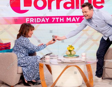 Lorraine Kelly and Stephen Mulhern