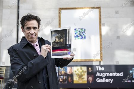 The Augmented Gallery is unveiled today with actor Stephen Mangan marking the launch of Art of London, a new cultural initiative for the West End. The trail of 20 frames unlocks life size masterpieces from the National Gallery, the National Portrait Gallery, the Royal Academy of Arts and Sky Arts†Portrait Artist of the Year. From Titian to Tracey Emin, Van Gogh to Van Dyck, classics and contemporary pieces are brought to life through the lens of cutting-edge augmented reality.