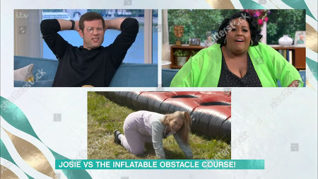 Dermot O'Leary, Alison Hammond and Josie Gibson