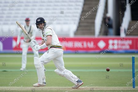 Matt Taylor, Gloucestershire CCC glances behind square during Middlesex CCC vs Gloucestershire CCC, LV Insurance County Championship Group 2 Cricket at Lord's Cricket Ground on 7th May 2021