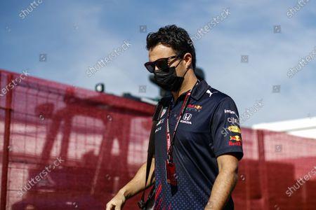 Sergio Perez (mex), Red Bull Racing Honda RB16B, portrait