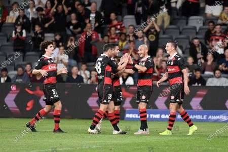 Editorial image of Western Sydney v Western United, A-League football match, Bankwest Stadium, Parramatta, Australia - 08 May 2021