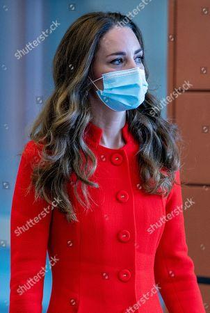 Catherine Duchess of Cambridge visit to East London hospital