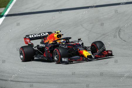 11 Sergio Perez (mex), Red Bull Racing Honda RB16B, action