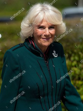 Editorial image of Camilla Duchess of Cornwall visit to 5th Battalion The Rifles, UK - 07 May 2021