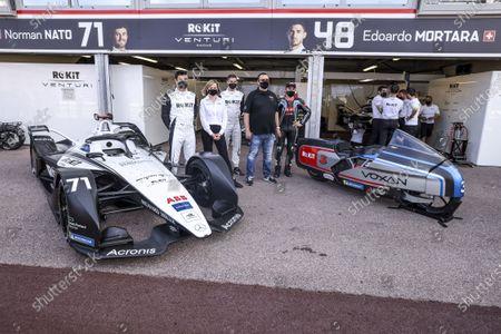 Editorial picture of Formula E Round 7 Monaco E-Prix, Circuit de Monaco, Monte Carlo, Monaco - 07 May 2021