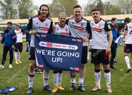 Editorial picture of Crawley Town v Bolton Wanderers, EFL Sky Bet League Two, Football, The People's Pension Stadium, Crawley, UK - 08 May 2021