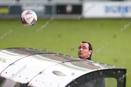 Stock Photo of Gary Bowyer, manager of Salford City