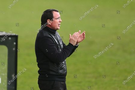 Gary Bowyer, manager of Salford City