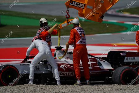 Editorial photo of F1 Spanish Grand Prix, Practice, Circuit de Barcelona-Catalunya, Barcelona, Spain - 07 May 2021
