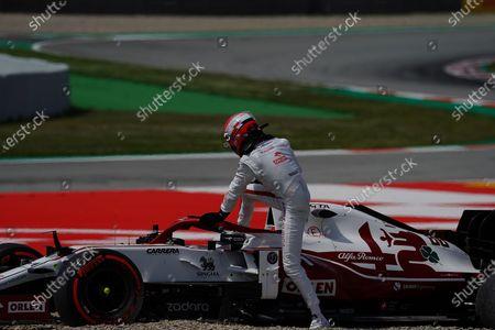 Editorial image of F1 Spanish Grand Prix, Practice, Circuit de Barcelona-Catalunya, Barcelona, Spain - 07 May 2021