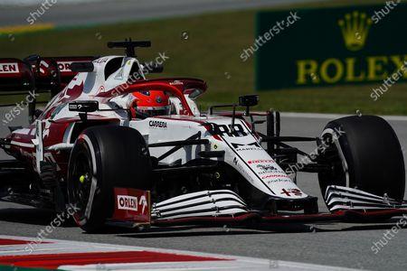 Test driver Robert Kubica (POL#88), Alfa Romeo Racing ORLEN