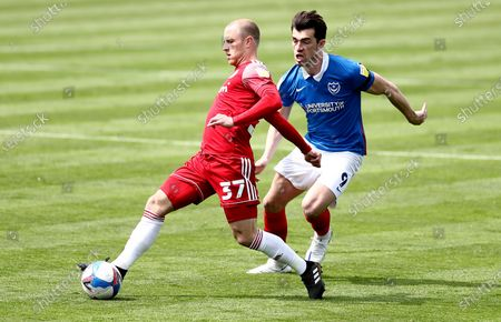 David Morgan of Accrington Stanley and John Marquis of Portsmouth.