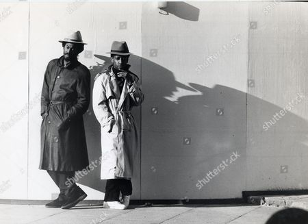 Editorial image of Aswad From L-to-r: Drummie Zeb And Tony Gad Pop / Regae Band