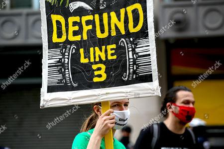 ShutDown DC Line 3 Oil Pipeline protest, Washington DC